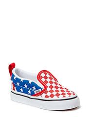 Slip-On V - (Stars & Stripes) true red/classic blue