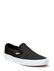 Classic Slip-On - (Perf Leather) black
