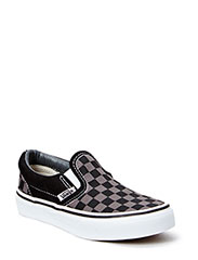 Classic Slip-On - (Checkerboard) blk/pewter
