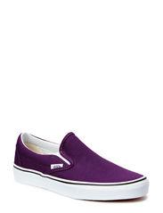Classic Slip-On - plum purple/true white
