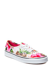 Authentic - (Hawaiian Floral) white