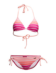 Triangle Bikini - pink striped