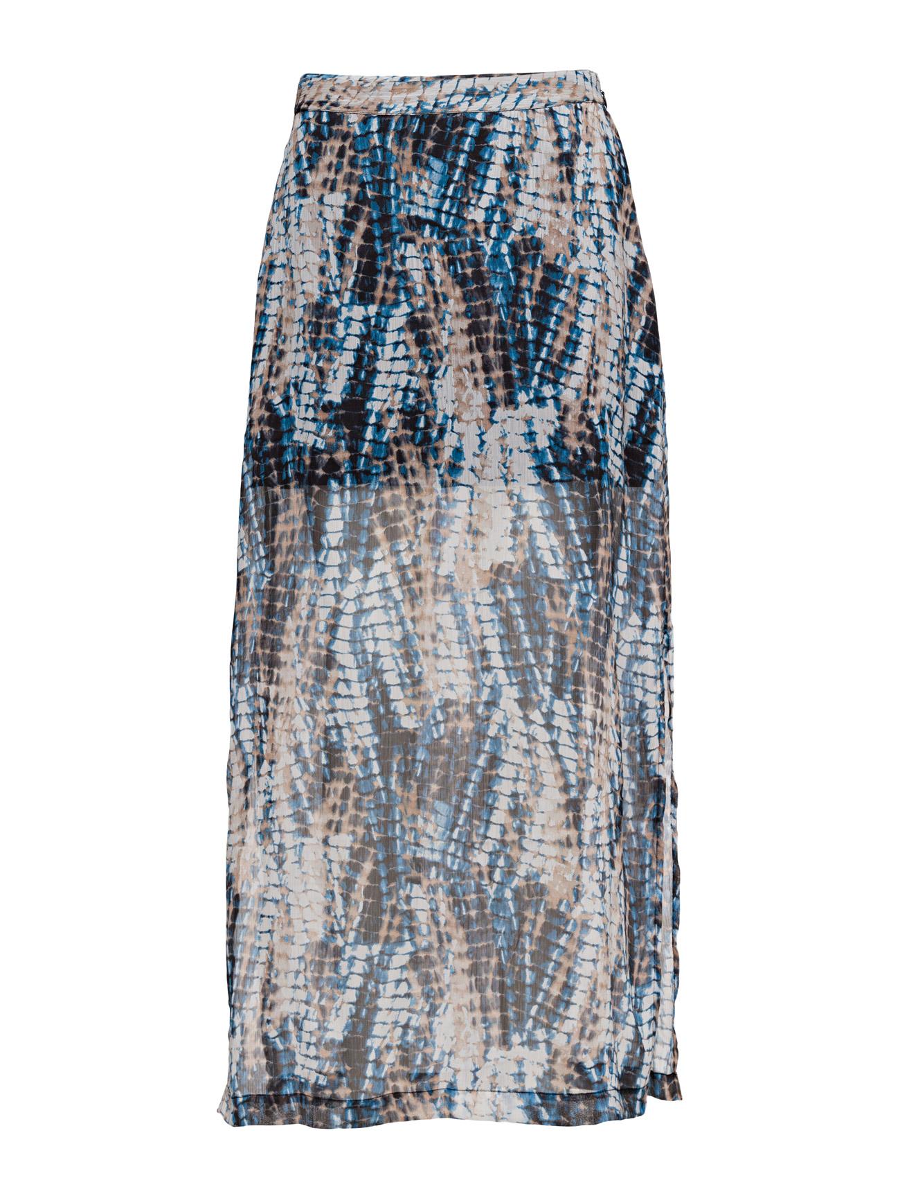 Vmcrocbase Long Skirt Dnm Wp3 Vero Moda Maxi til Damer i