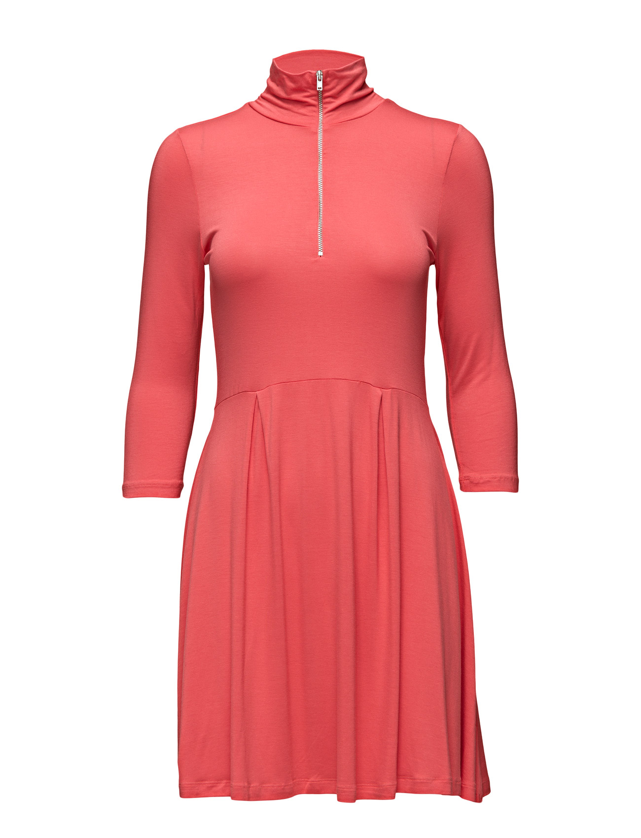 Vmniho 3/4 Rollneck Zip Dress Nfs Vero Moda Korte kjoler til Damer i Rose Of Sharon