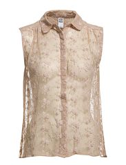 Vero Moda AMI PEARLY LACE TOP EX1