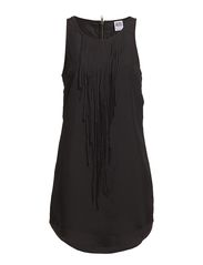 Vero Moda FERNA FRILL S/L MINI DRESS - NFS