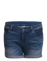 Vero Moda BRIX LW PATCH SHORTS - MED BLUE