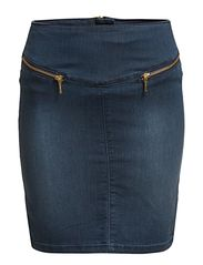 Vero Moda GELLER HW ZIP SHORT SKIRT - MIX