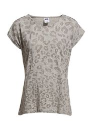 Vero Moda BURNOUT S/S TOP BOX EX3