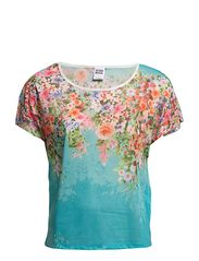 Vero Moda LAURA FLOWER S/S TOP BBB