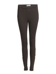 KERY NW LEGGINGS - Dark Grey Melange