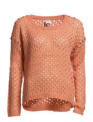 ANNEMONA STONE LS BLOUSE - Rose Dawn