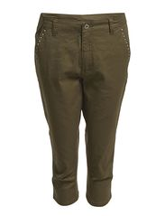 MOON LW CHINO KNICKERS - Burnt Olive