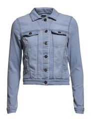 NEW SOYA LS DENIM JACKET- MIX - NOOS - Light Blue Denim