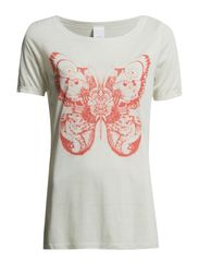 CATFLY S/S TOP BOX IT - White Asparagus