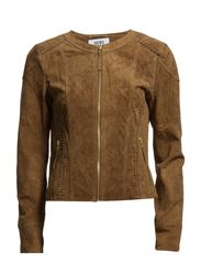 RIVERA SHORT SUEDE JACKET - Thrush