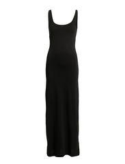 NANNA SL ANCLE DRESS NOOS - Black