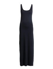 NANNA SL ANCLE DRESS NOOS - Black Iris