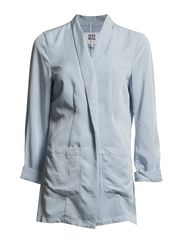 HONEY HEKLA 3/4 LOOSE BLAZER - Cashmere Blue