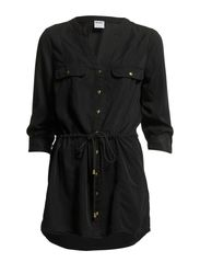 WP - SAFARI HEKLA LS TUNIC 1 - Black