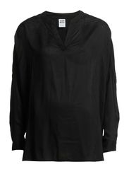 PIANO L/S TOP - NFS - Black