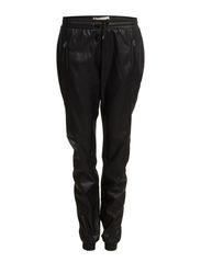 DELTA BUTTER NW PU PANT BLUE - Black