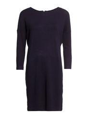 GLORY AURA 3/4 DRESS - Black Iris