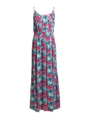 EASY SL MAXI TIE DRESS - Capri
