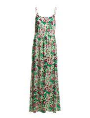 EASY SL MAXI TIE DRESS - Festival Fuchsia