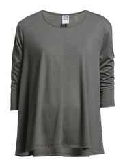 KATE SWING 3/4 TOP NFS - Medium Grey Melange