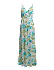 ANDREA FLOWER SL MAXI DRESS - NFS - Snow White
