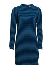 AMILIAS L/S SHORT DRESS - Brilliant Blue