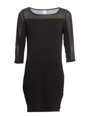 JAKE 3/4 SHORT DRESS IT - Black