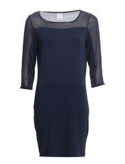 JAKE 3/4 SHORT DRESS IT - Black Iris