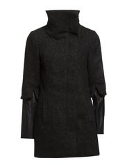 CARLI DAISY  3/4 JACKET - Black