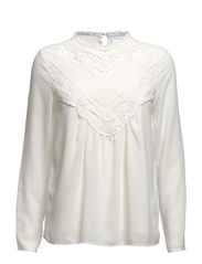 LILJA LACE L/S TOP GA IT - Snow White