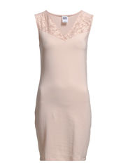 VANNA LACE S/L SHORT DRESS NFS - Rose Smoke