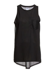MIXA MESH S/L TOP NFS - Black