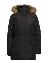 EXPEDITION 3/4 PARKA - Black