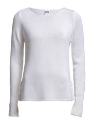 JANNICE LS BLOUSE LOCAL - Bright White
