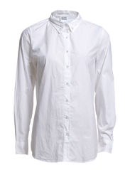 ANNE L/S SHIRT - NFS - Bright White