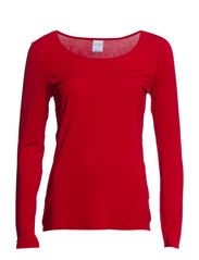 MODA TENCEL L/S TOP GA IT - Jester Red