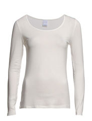 MODA TENCEL L/S TOP GA IT - Snow White