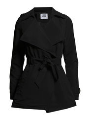 VMSCORE TRENCHCOAT - Black