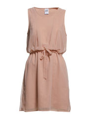 CHINO S/L SHORT DRESS NFS - Mahogany Rose