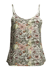 EASY NEW SINGLET TOP - Ivy Green