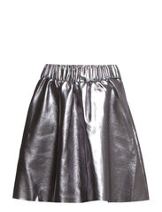 VMSANDY SHORT NW PU SKIRT - Asphalt