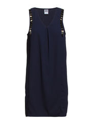 VMMYTO SL SHORT DRESS - Black Iris