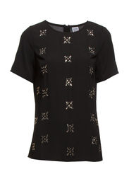 WP - COUTURE S/S TOP 14 - Black