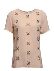 WP - COUTURE S/S TOP 14 - Mahogany Rose